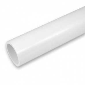 "2"" Furniture Grade PVC Pipe -White - 5ft."
