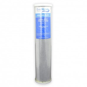 "20"" EverWave Block Carbon Filter Cartridge - 5 Micron"