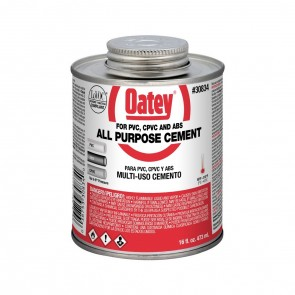 Oatey Low VOC All Purpost Cement - 16 oz. (30834)