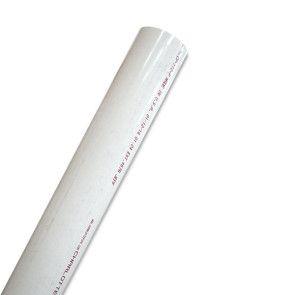 "4"" Sch 40 PVC Pipe - White"
