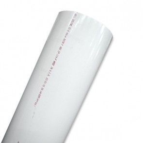 "14"" Schedule 40 PVC Pipe - White"
