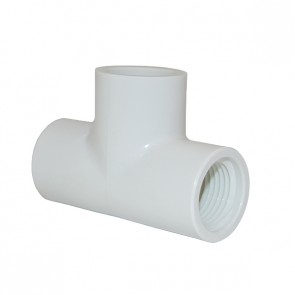 403-005 PVC Tee Slip x FPT x Slip