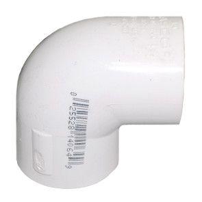 "4-1/2"" Sch 40 PVC 90 Elbow Soc 406-045F"