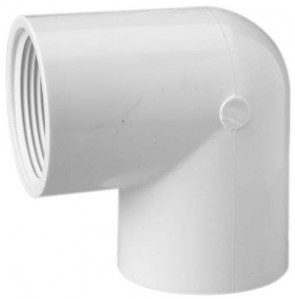"1"" Sch 40 PVC 90 Elbow Fipt 408-010"