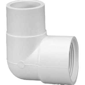 "1/2"" Sch 40 90 Street Elbow SP x FPT (411-005)"