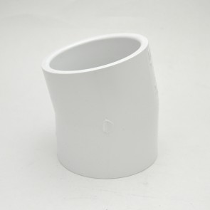 """3"""" schedule 40 pvc 11-1/4 elbow fitting"""