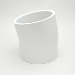 """4"""" schedule 40 pvc 11-1/4 elbow fitting"""