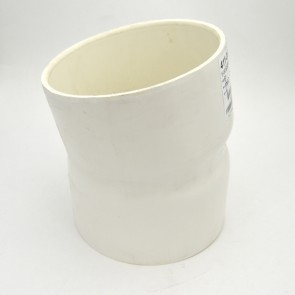 """6"""" schedule 40 pvc 11-1/4 elbow fitting"""
