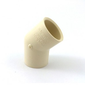 "1/2"" CTS CPVC 45 Degree Elbow 4117-005"