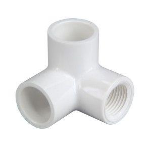 "1"" x 1/2"" Sch 40 PVC Side Outlet Elbow - Soc x Fipt 414-130"
