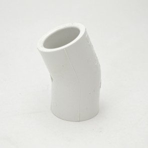 "3/4"" schedule 40 pvc 22-1/2 elbow fitting"