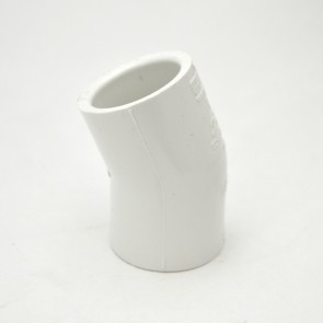 "1"" schedule 40 pvc 22-1/2 elbow fitting"