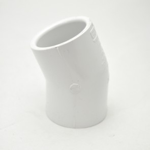 "1-1/4"" schedule 40 pvc 22-1/2 elbow fitting"