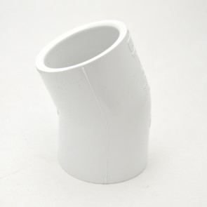 "1-1/2"" schedule 40 pvc 22-1/2 elbow fitting"