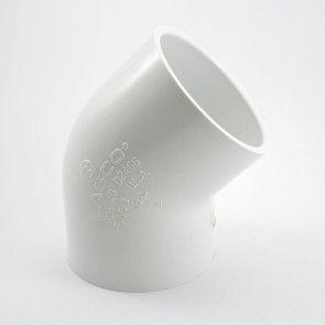 "3"" Sch 40 PVC 45 Elbow Soc 417-030"