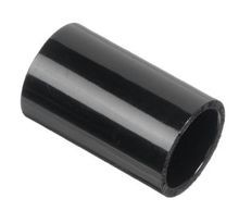 "1-1/2"" Black Sch 40 PVC Coupling - Socket (429-015B)"