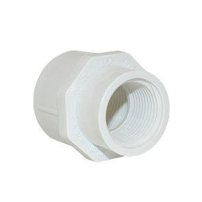 "3/4"" x 1/2"" Sch 40 PVC Reducer Coupling Fipt 430-101"