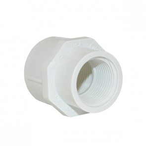 """1"""" x 3/4"""" Schedule 40 Reducer Coupling FPT x FPT - 3/4"""" End"""