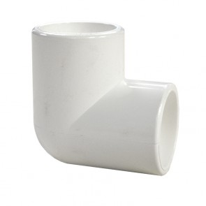 "3/4"" PVC Elbow - Furniture Grade"