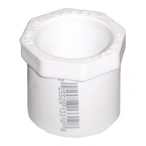 PVC Reducer Bushing Flush Style