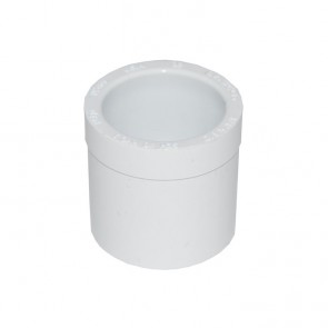 "3/4"" x 1/2"" Schedule 40 PVC Reducer Bushing - Spigot x Socket"