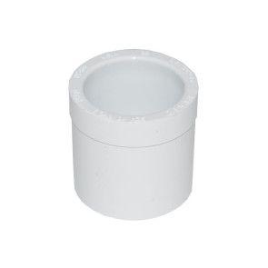 "3/4"" x 1/2"" Schedule 40 PVC Reducer Bushing - Spigot x Socket"