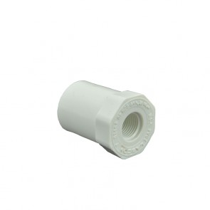 Sch 40 PVC Reducer Bushing Flush Style - Spig x Fipt