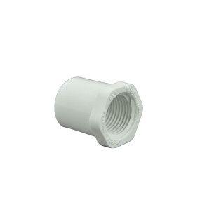 Schedule 40 PVC Reducer Bushing - Spigot x FIPT