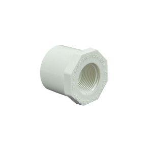 """1-1/4"""" x 3/4"""" Schedule 40 PVC Reducer Bushing"""