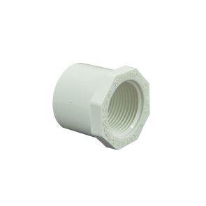 """1-1/4"""" x 1"""" Schedule 40 PVC Reducer Bushing"""