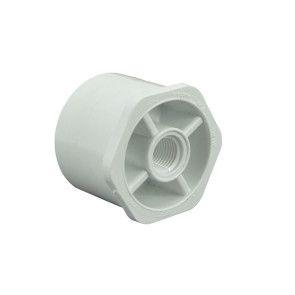 "1-1/2"" x 1/4"" Sch 40 PVC Reducer Bushing Flush Style"