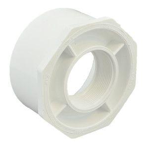 "4"" x 2"" Sch 40 PVC Reducer Bushing Flush Style"