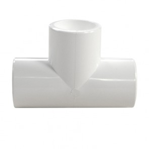 "1/2"" PVC Tee - Furniture Fitting"