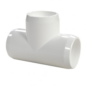"1"" PVC Tee - Furniture Grade"