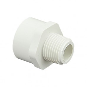 "1/2"" x 3/4"" Sch 40 PVC IPT Adapter"