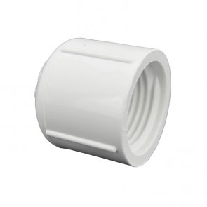"1/2"" Sch 40 PVC Cap - FPT Threaded 448-005"