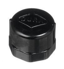 "1/2"" Black Sch 40 PVC Cap - FIPT (448-005B)"