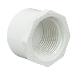 "1"" Sch 40 PVC Cap - FPT Threaded 448-010"
