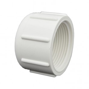 "1-1/4"" Sch 40 PVC Cap - FPT Threaded 448-012"