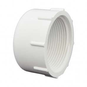 "1-1/2"" Sch 40 PVC Cap - FPT Threaded 448-015"