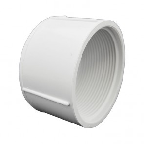 "2-1/2"" Sch 40 PVC Cap - FPT Threaded 448-025"