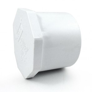 "2-1/2"" PVC Plug - Spigot Style"