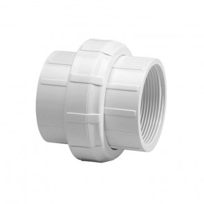 "1-1/4"" Sch 40 PVC Union - Threaded Ends"