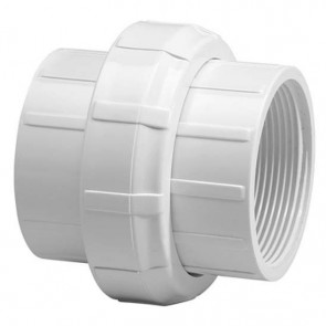 "6"" Schedule 40 PVC Union - Threaded"