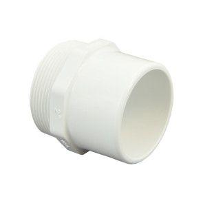"""2"""" Sch 40 PVC Male Adapter - Spig x Mipt 461-020"""