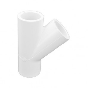 3/4 inch pvc wye fitting schedule 40