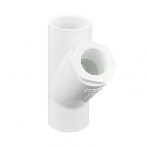 "1-1/2"" x 1"" Sch 40 PVC Reducing Wye"