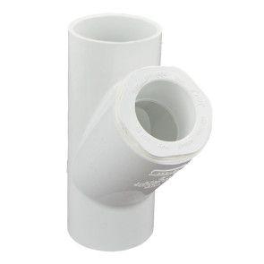 "2"" x 1-1/4"" Sch 40 PVC Reducing Wye"