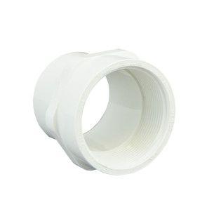 """2"""" Sch 40 PVC Spigot Female Adapter - Spig x Fipt 478-020"""