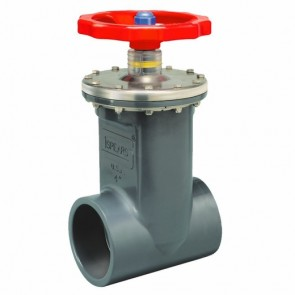 "4"" PVC Socket Gate Valve Spears 2022-040"
